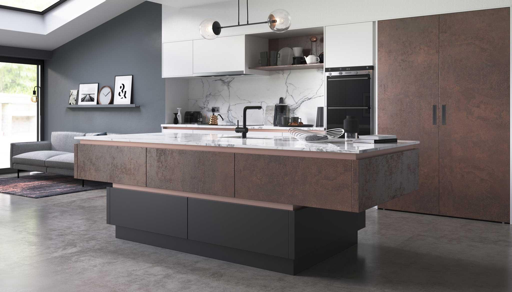 Futura-Oxidised-Amber,-White-Supermatt-&-Graphite-Supermatt-01